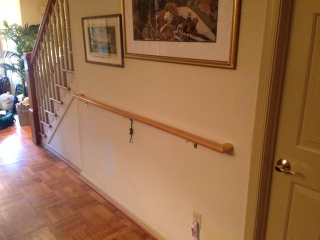 Hallway Handrail | That Grab Bar Guy